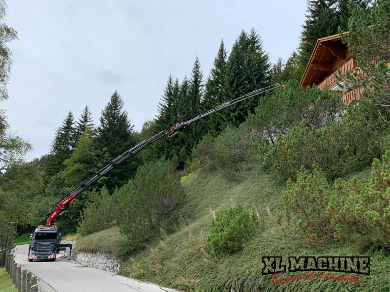 XL Machine Transport Sàrl - levage et transport en Suisse romande